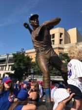 Ron Santo statue