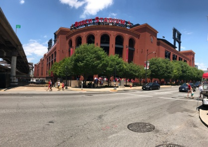 Panoramic view on the walk in