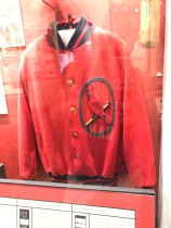Hands down my fav vintage sweater in the Cards museum. It was really old...