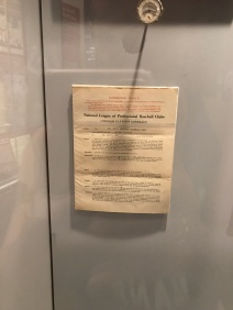 Stan Musial's contract