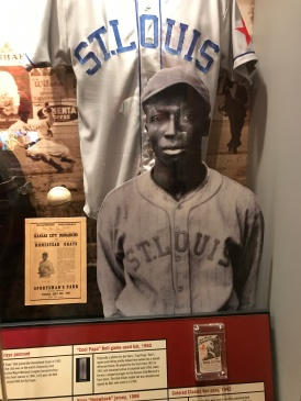 I met this guy, Cool Papa Bell, when I was little