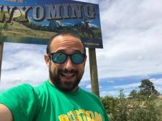 I've arrived in Wyoming