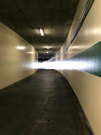 The halls were empty!