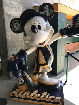 Mickey sure is at a lot of different ballparks