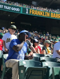 OMG, this guy was the most obnoxious fan I sat by all summer!